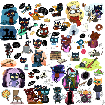 NITW Mini Doodle Dump by Equestria-Prevails