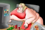 Computer-Chick by koudelka2005