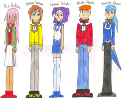 GX Offspring Classmates 1 by fluffy-the-wolf