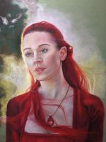 Red Woman by hever