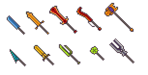 Pixel weapons collection 2 by FrozeN9
