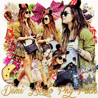 Pack png 199 Demi Lovato by MichelyResources
