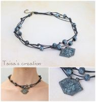 Dwarven Necklace with Ornament of Moria by Taisa-Winged