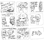 Amazing Never Comic by sadwonderland