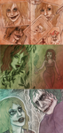 More Harley Quinn Sketches by SnowFright
