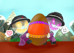 LBP3 - HAPPY EASTER!!! by tantei-fox03