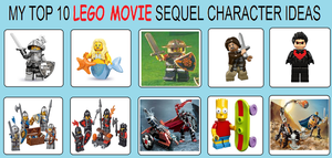 My Top 10 LEGO Movie Sequel Character Ideas by jacobyel