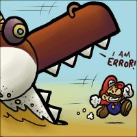 I AM ERROR by TheBourgyman