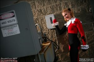 460 Volts of Harley Quinn by EccentricCasey