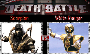 Scorpion vs White Ranger by SonicPal