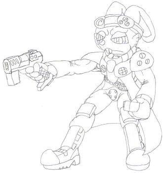 Bucky O Hare Redesign by BOHfanclub