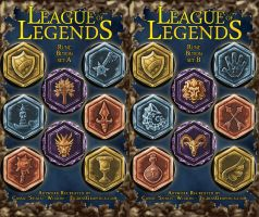 Button Set: League of Legends Runes by Shalie