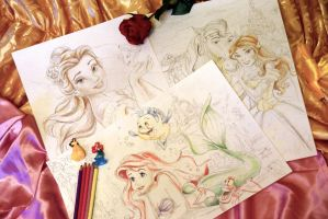 Princess - WIP by Alena-Koshkar