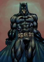 Batman Ink03 Color by dushans