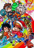Merry Christmas 2014 by Captain--Ruffy