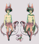 MYO Rosale Entry: Linus, The Faux Forest Prince by shadefeather413