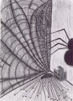 Spider I by haunted-medea