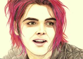 Gerard Way by Turmaly1