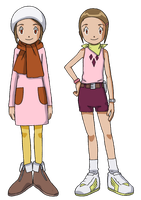 Hikari colored outfits by Deco-kun