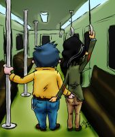 Subway - EddxEddy by HettyBobcat