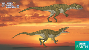 Walking with Dinosaurs: Australovenator by TrefRex