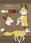 Taiyou Reference Sheet by MattsyKun