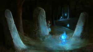 Trail of the wisps by lorestra