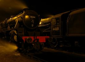 45231 and 44871 by matt-durkan-railways