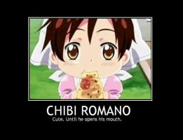 Romano Cute Untill He Opens His Mouth by animelover4242456