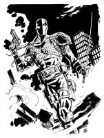 Deathstroke by deankotz