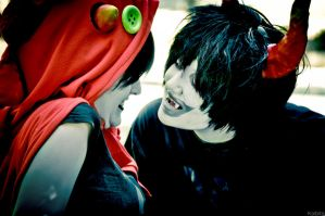 DON'T K1SS M3 - Homestuck by KoiCos