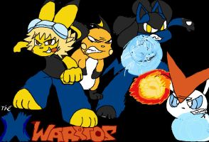 The X Warriors by Pikachu84