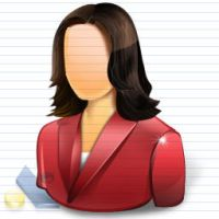 Vista Business Girl Icons by artistsvalley