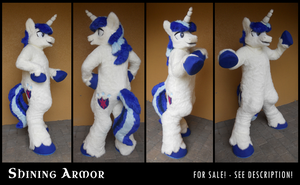 Costume - Shining Armor *SOLD* by SpainFischer