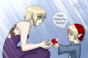 Mothers Day Present from Vlad by YumeSamasLover