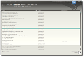Steam Skin New UI - 04.04.2010 by Streetster20
