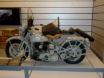 WW II Navy Harley Davidson with sidecar by Caveman1a