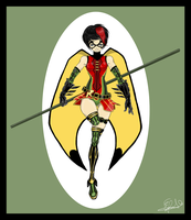 [Ame-Comi] Robin by batcheeks