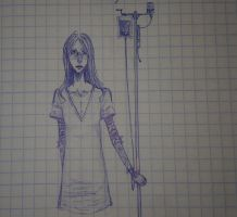 Lucy from the psychiatric hospital by Florence-KiZ