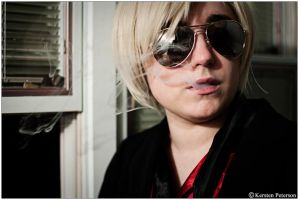 Homestuck: Having a Smoke by CosplayerWithCamera