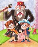 Gravity Falls by Gigei