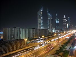 Beautiful Dubai by locked-inside