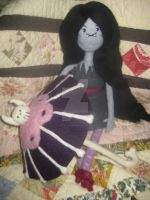 My Needle Felted Marceline w/ umbrella - Henchman by CatsFeltLings