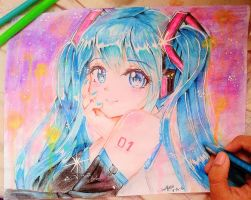 Hatsune Miku by nightcore987555