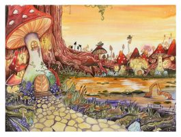 My Mushroom Kingdom by spoon-kn