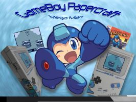 Papercraft Gameboy Megaman Version by Shinaig
