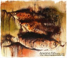 Arwana Fish by sevengraphs
