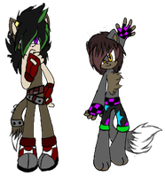 Sonic Male Adopts 1 -taken- by Cendric-Beck-Adopts