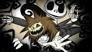 This is Halloweentown Sora (Ver.1) by Goldenphenix