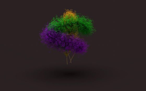 3D Games with feather and the hair shader by AliceG67